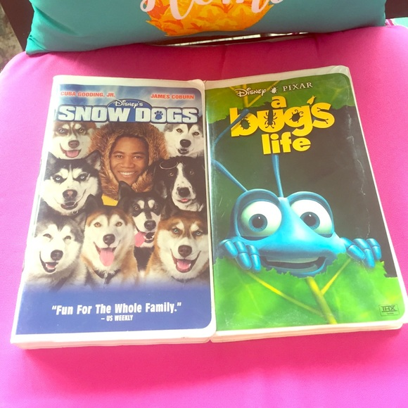 Disney Other Snow Dogs A Bugs Life Vhs Bundle Poshmark